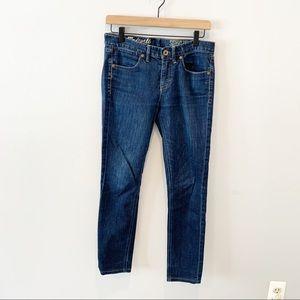 Madewell Skinny Skinny Jeans, Size 28